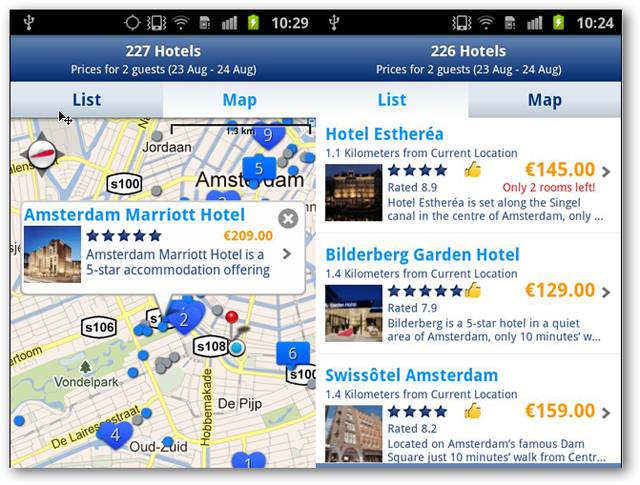 screenshotsofbookings.comandroidapp