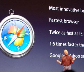 Safari on Windows: WWDC07 Unveiling