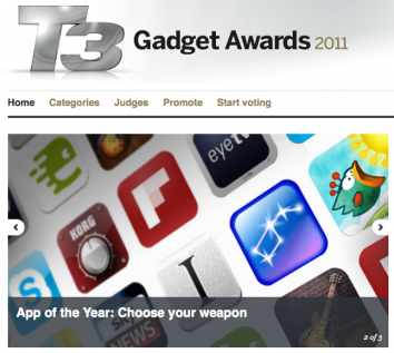 T3 Gadget Awards