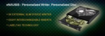 Lite-On eNAU608 external DVD/CD writer