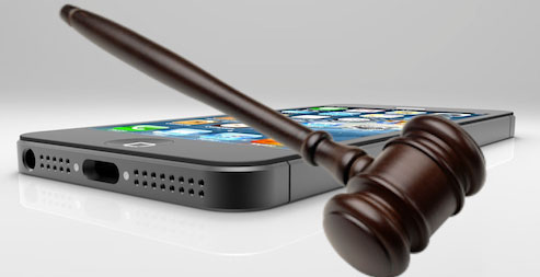 mobile devices in lawsuits
